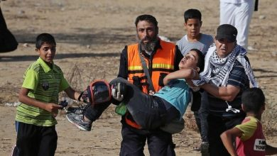 Photo of صیہونی فوجیوں کا حملہ، 24 فلسطینی زخمی